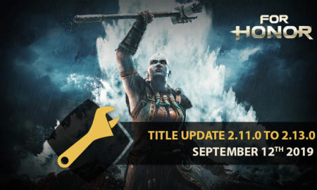 For Honor - PATCH NOTES 2.13