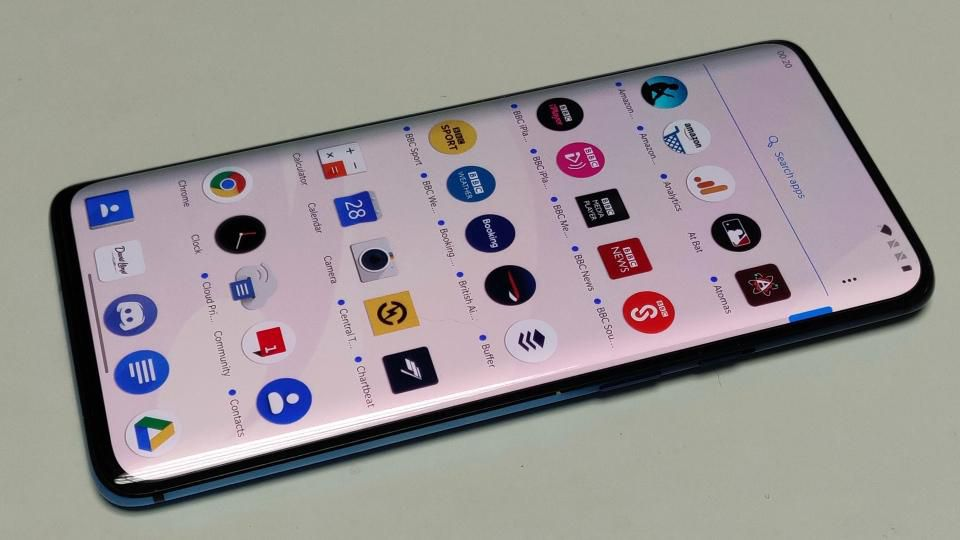 90 Hz display/screen refresh rate OnePlus 7T Pro
